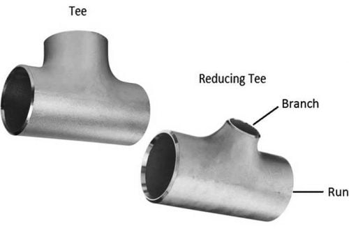 SS Tee Manufacturers, Suppliers - Equal Tee, Reducing tee, Un Equal Tee